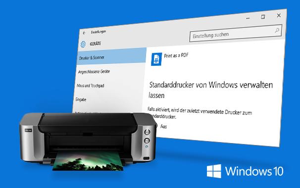 Windows 10 Druckereinstellungen