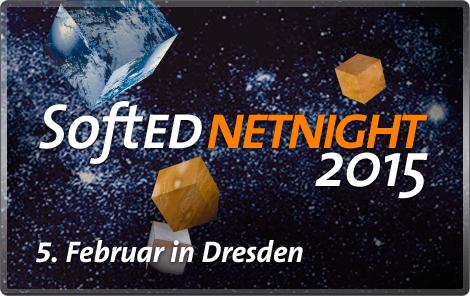 SoftEd NetNight 2015 - Jetzt Platz sichern! 1