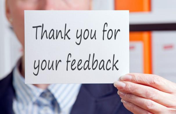 Das sagen unsere Kunden  - Trainingsfeedbacks 1