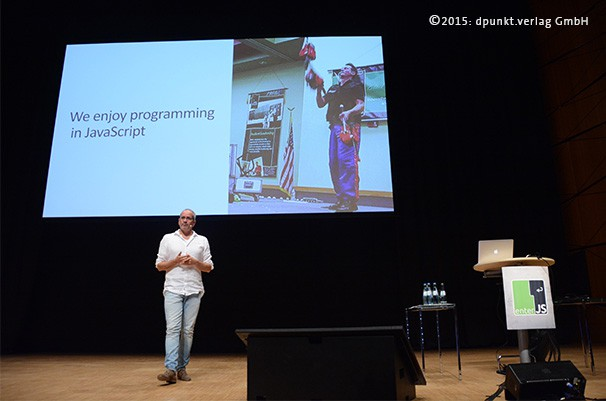 Eröffnung der JavaScript Konferenz