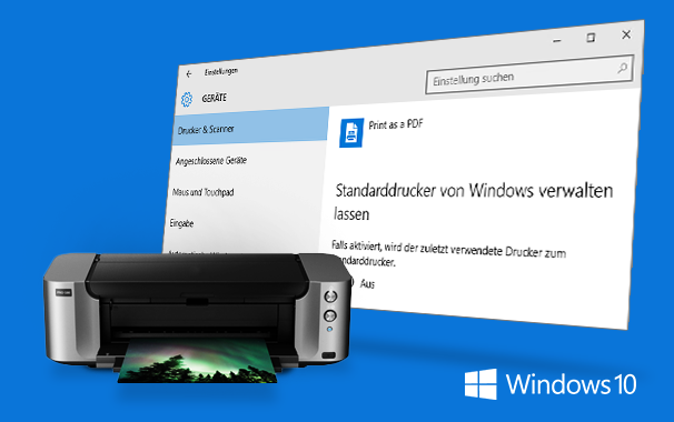Windows 10 ändert ungefragt den Standarddrucker 1