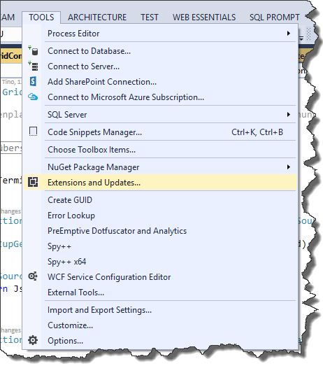 Visual Studio Plugin Installation