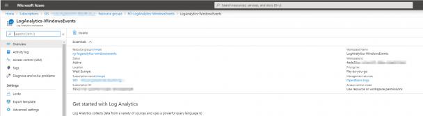 SMB1 Zugriffe im Unternehmen protokollieren und auswerten – so geht's! Part 2: Einrichtung LogAnalytics Workspace 3