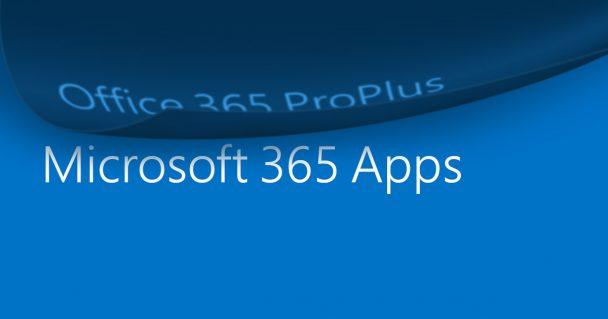 Office 365 ProPlus ändert seinen Namen 1