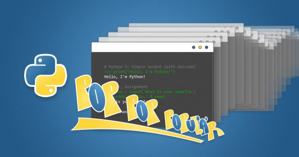 Pop Pop, Populär* Python 4