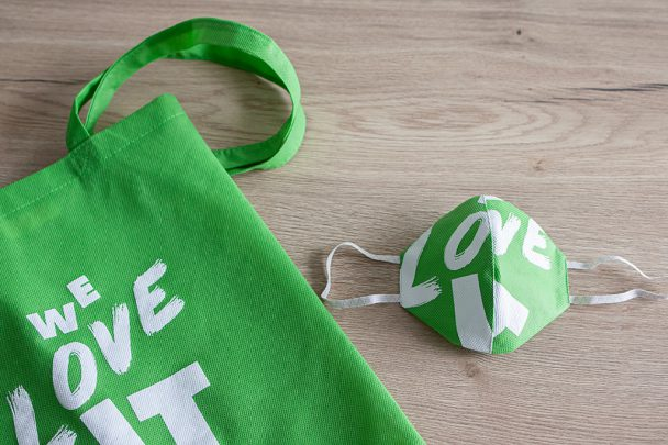 Von der IT-Bag zur IT-Mask – Upcycling bei SoftEd 2