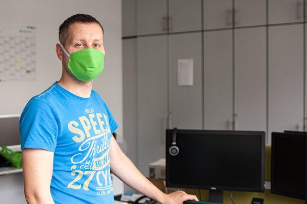 Von der IT-Bag zur IT-Mask – Upcycling bei SoftEd 5