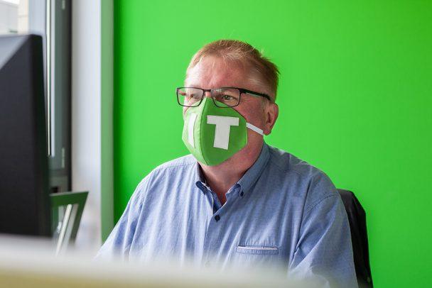 Von der IT-Bag zur IT-Mask – Upcycling bei SoftEd 6