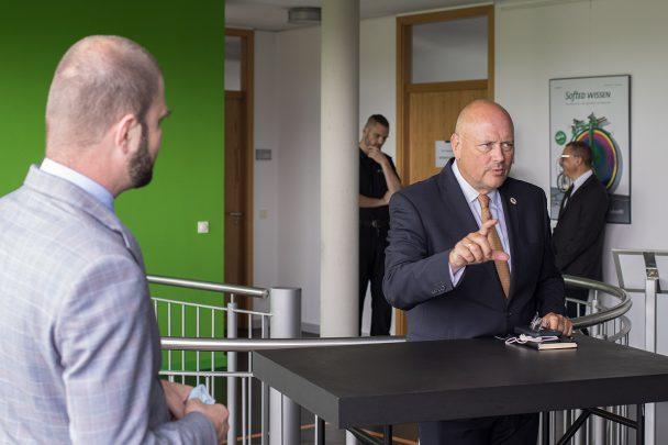 Digital – aber sicher! BSI Präsident Schönbohm zu Gast bei SoftEd 3