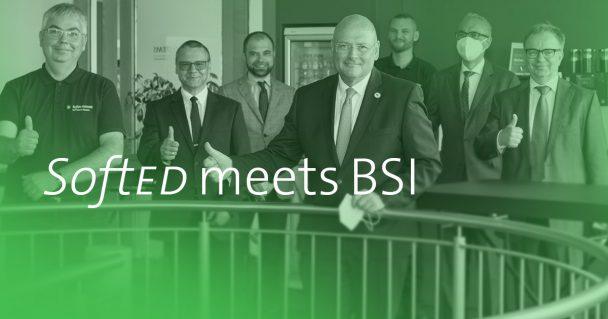 Digital – aber sicher! BSI Präsident Schönbohm zu Gast bei SoftEd 2